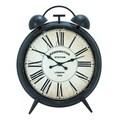 Woodland Imports Corrosion Resistive Round Clock