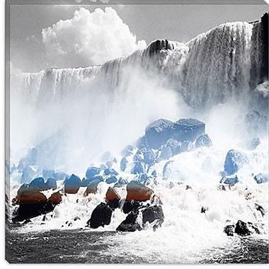iCanvas Canada Niagra Falls 2 Photographic Print on Canvas; 12'' H x 12'' W x 1.5'' D