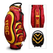 Team Golf NCAA Medalist Cart Bag; University Of Southern California