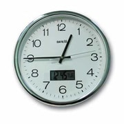 Datexx 12'' Aluminum Analog Wall Clock
