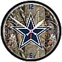 Wincraft NFL 12.75'' Camoflage Wall Clock; Dallas Cowboys