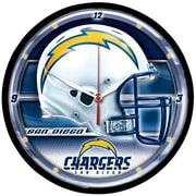 Wincraft NFL 12.75'' Wall Clock; San Diego Chargers
