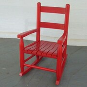 Dixie Seating Child's Rocking Chair; Red