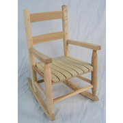 Dixie Seating Child's Rocking Chair; Unfinished