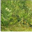 iCanvasArt ''Two White Butterflies'' Canvas Wall Art by Vincent Van Gogh; 12'' H x 12'' W x 1.5'' D
