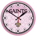 Wincraft NFL 12.75'' Wall Clock; New Orleans Saints