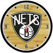 Wincraft NBA 12.75'' Wall Clock; Brooklyn Nets