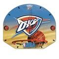 Wincraft NBA Plaque Wall Clock; Oklahoma City Thunder