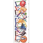 Art 4 Kids Sports Pennant Growth Chart