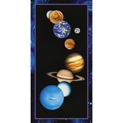 Art 4 Kids The Solar System Canvas Art; Contemporary Mount with Beveled Edge