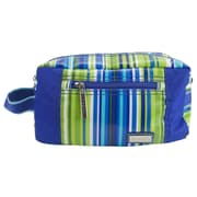 Hadaki Travel Essentials Kit; Jazz Stripes Cobalt