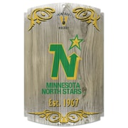 Wincraft NHL Graphic Art Plaque; Minnesota North Stars Vintage