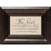 Artistic Reflections The Best and Most Beautiful Framed Textual Art