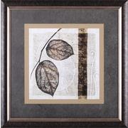 Art Effects Fall Leaves II by Christine Zalewski Framed Graphic Art