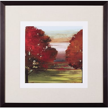 Art Effects Flow Trees II Petite by Allison Pearce Framed Painting Print