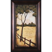 Art Effects Our Family Tree by Kendra Baird Framed Painting Print