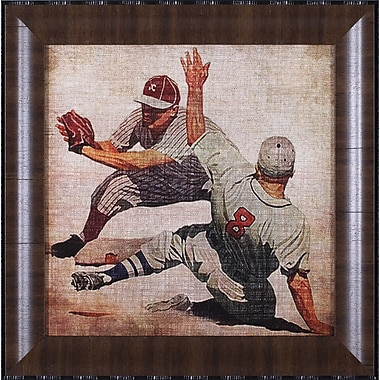 Art Effects Vintage Sports VII by John Butler Framed Graphic Art