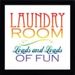 Artistic Reflections Laundry Room Textual Print Art