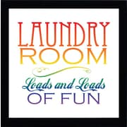 Artistic Reflections Laundry Room by Tonya Framed Textual Art