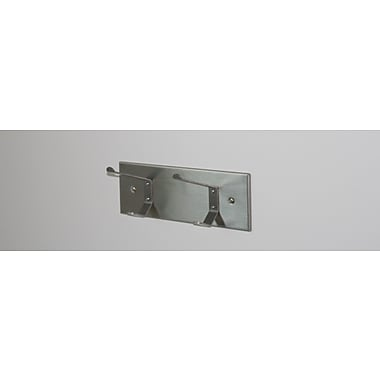 Magnuson Group Stainless Steel Panel Coat Hook; Two