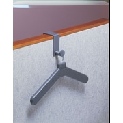 Magnuson Group Over Panel Coat Hook w/ Hanger; Charcoal Gray