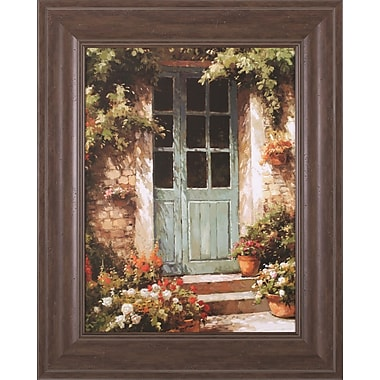 Art Effects Tuscan Entryway by Steven Harvey Framed Painting Print