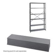 Safco Products Industrial 85'' H 6 Shelf Shelving Unit; 85'' H x 48'' W x 12'' D
