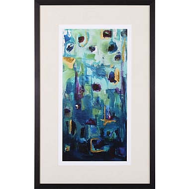 Art Effects Abstract EXP II by Marabeth Quin Framed Painting Print