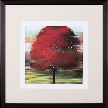 Art Effects Flow Trees I Petite by Allison Pearce Framed Painting Print
