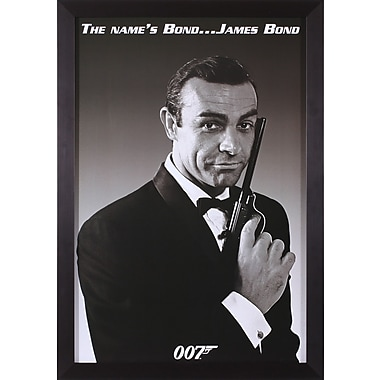 Art Effects James Bond The Name's Bond Framed Photographic Print