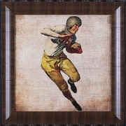 Art Effects Vintage Sports III by John Butler Framed Painting Print