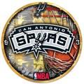 Wincraft NBA 18'' High Def Wall Clock; San Antonio Spurs