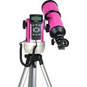 iOptron SmartStar R80 GPS Computerized Refractor Telescope; Pink