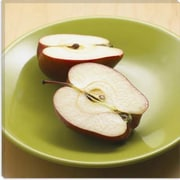 iCanvas Food and Cuisine Sliced Apples Photographic Print on Canvas; 12'' H x 12'' W x 0.75'' D