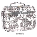 J World Cody Lunch Bag with Shoulder Strap; Frost White