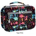 J World Cody Lunch Bag with Shoulder Strap; Tiger Pink