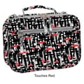 J World Cody Lunch Bag with Shoulder Strap; Touches Red