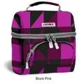 J World Corey Lunch Bag; Block Pink