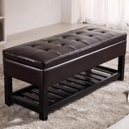 Simpli Home Cosmopolitan Storage Bench