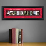 JDS Personalized Gifts Personalized Gift College Campus Framed Memorabilia; Louisville
