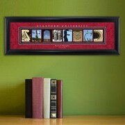 JDS Personalized Gifts Personalized Gift College Campus Framed Memorabilia; Stanford