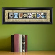 JDS Personalized Gifts Personalized Gift College Campus Framed Memorabilia; Colorado