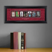 JDS Personalized Gifts Personalized Gift College Campus Framed Memorabilia; Alabama