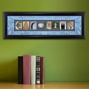 JDS Personalized Gifts Personalized Gift College Campus Framed Memorabilia; North Carolina