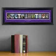 JDS Personalized Gifts Personalized Gift College Campus Framed Memorabilia; Northwestern