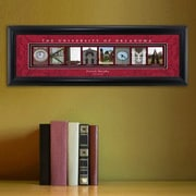 JDS Personalized Gifts Personalized Gift College Campus Framed Memorabilia; Oklahoma
