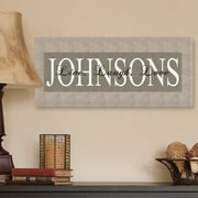 JDS Personalized Gifts Personalized Gift Live, Laugh, Love Graphic Art on Canvas; Bold Grey