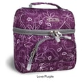 J World Corey Lunch Bag; Love Purple
