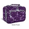 J World Cody Lunch Bag with Shoulder Strap; Garden Purple