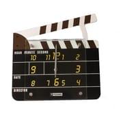 Creative Motion 11.81'' Clap Board Wall Clock